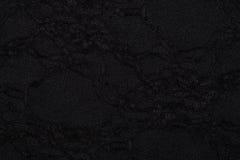 Czarny materiał z abstrakta wzorem, tło Zdjęcia Royalty Free