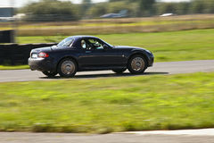 Czarny Mazda car-aug27 Zdjęcia Stock