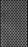 Czarny metal lotniczej wentylaci grille tło Zdjęcie Stock