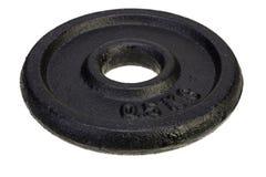 Czarny metalu dysk dla dumbbells Zdjęcie Royalty Free