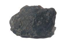 Czarny meteorytu kamień Fotografia Royalty Free