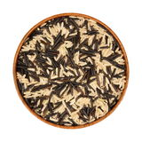 czarny mieszanki ryżowy biały dziki Obraz Royalty Free