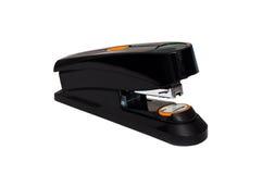 czarny możny biurowy pomarańczowy potężny zszywacz Obrazy Stock