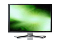 czarny monitor obrazy stock