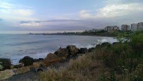 Czarny morze Zdjęcia Royalty Free