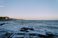 Czarny morze 1 Zdjęcia Royalty Free
