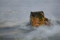 Czarny morze kamień Fotografia Stock
