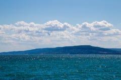Czarny morze przy Balchik Obrazy Royalty Free