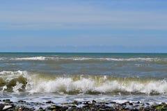 Czarny morze w Atlantyckim oceanie Zdjęcie Royalty Free