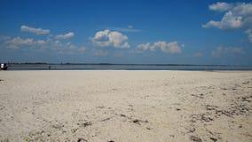Czarny morze wioska Lazurne, Ukraina, w dystansowych wiatraczkach zbiory