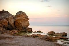 Czarny morze & x28; Odessa, Ukraine& x29; Obrazy Stock