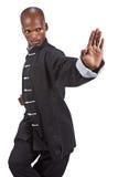 czarny ninja Zdjęcia Stock
