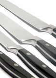 czarny noże Obrazy Royalty Free