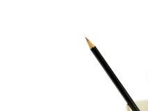 Czarny ołówek w papierowej filiżance Zdjęcia Stock