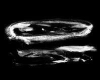 czarny obrazów wyczulony biel Zdjęcie Royalty Free
