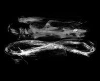 czarny obrazów wyczulony biel Zdjęcia Stock