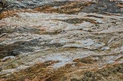 Czarny obsydianu piasek i Inne tekstury Obrazy Stock