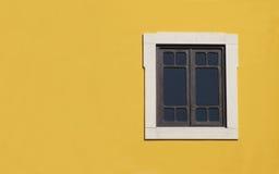 czarny okno Obrazy Royalty Free