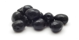 czarny oliwki fotografia stock