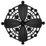 czarny ornament Zdjęcia Royalty Free