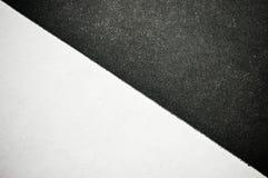 czarny papierowy biel Zdjęcia Stock
