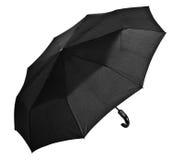 czarny parasol Zdjęcia Royalty Free