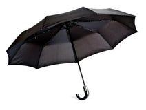 czarny parasol Zdjęcie Stock