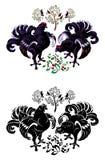 czarny pardwa Obraz Royalty Free