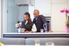 czarny pary kuchni potomstwa Obraz Royalty Free