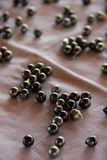 czarny perły zdjęcie stock