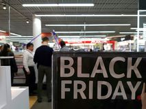 czarny Piątek zdjęcia stock