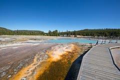 Czarny piaska gejzeru basen Zdjęcie Stock