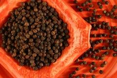 czarny pieprz Fotografia Royalty Free