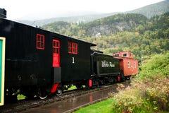 Czarny pociąg Obrazy Stock