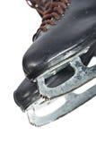 czarny postać par łyżwy Zdjęcia Royalty Free