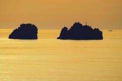 Czarny potwór morze Zdjęcie Royalty Free