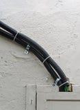 Czarny przewód Fotografia Royalty Free