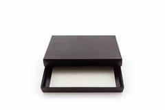 czarny pudełka papier Obraz Royalty Free
