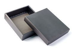Czarny pudełko Fotografia Royalty Free