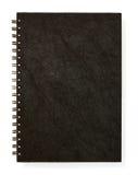 czarny pusta książkowa notatka zdjęcia stock