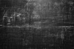 Czarny pusty chalkboard dla tła Obrazy Royalty Free