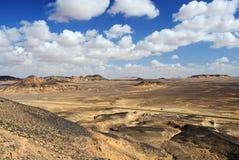 Czarny pustynny Sahara, Egipt, Afryka Fotografia Royalty Free