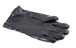 czarny rękawiczka Zdjęcie Royalty Free