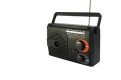 czarny radio obraz stock