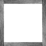 czarny ramowy drewno Zdjęcie Royalty Free