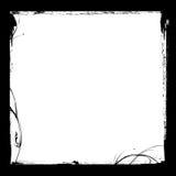czarny ramowy tuszu royalty ilustracja
