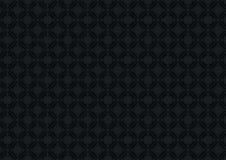 Czarny rocznika wzór ilustracja wektor