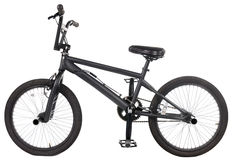 czarny rower Obrazy Royalty Free