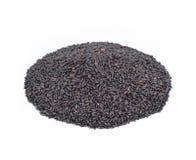 czarny ryż Zdjęcie Stock
