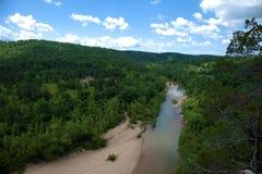 czarny rzeka Obraz Royalty Free